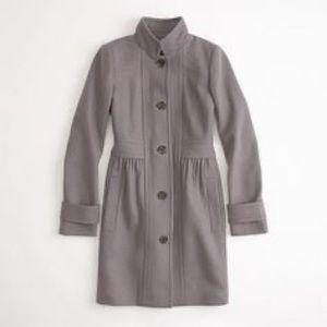 J. Crew Lady Wool Day Coat